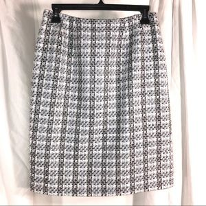 Doncaster Italian Gorgeous Tweed Skirt, size 8